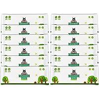 Lingettes nettoyantes Pack de Voyage Pogi's - 240 Lingettes désodorisantes pour Chien - biodégradables, Parfum de thé Vert, Naturelles