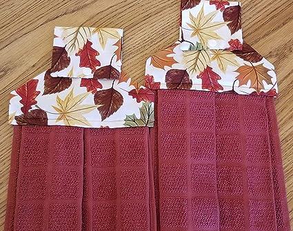 Amazon com: Make It Sew Designs Fall Leaves Hanging Dish