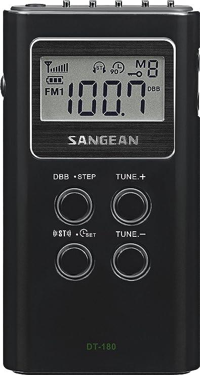 Review Sangean DT-180 AM/FM Pocket