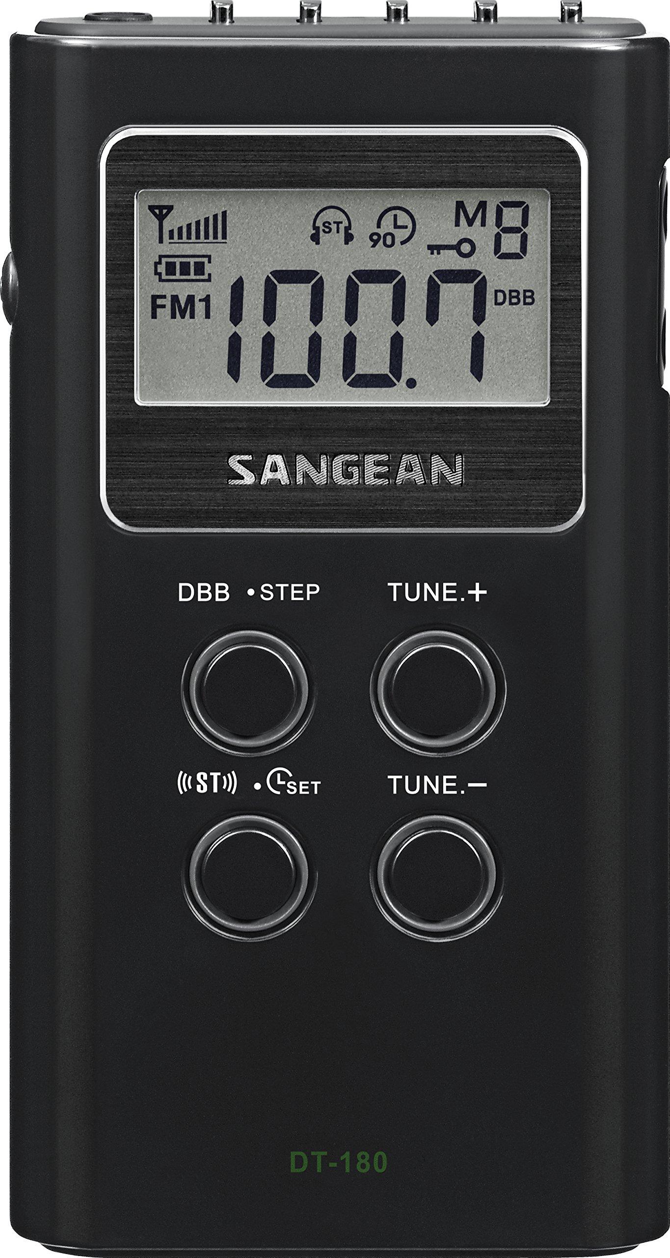 Sangean DT-180 AM/FM Pocket Radio