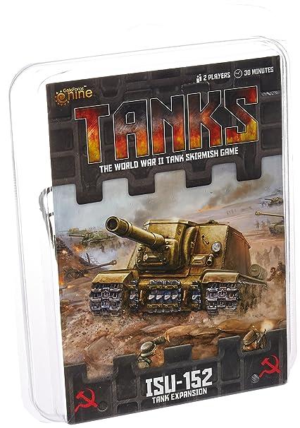 Battlefront Miniature Tanks: Soviet ISU 122 & ISU152 Board Game