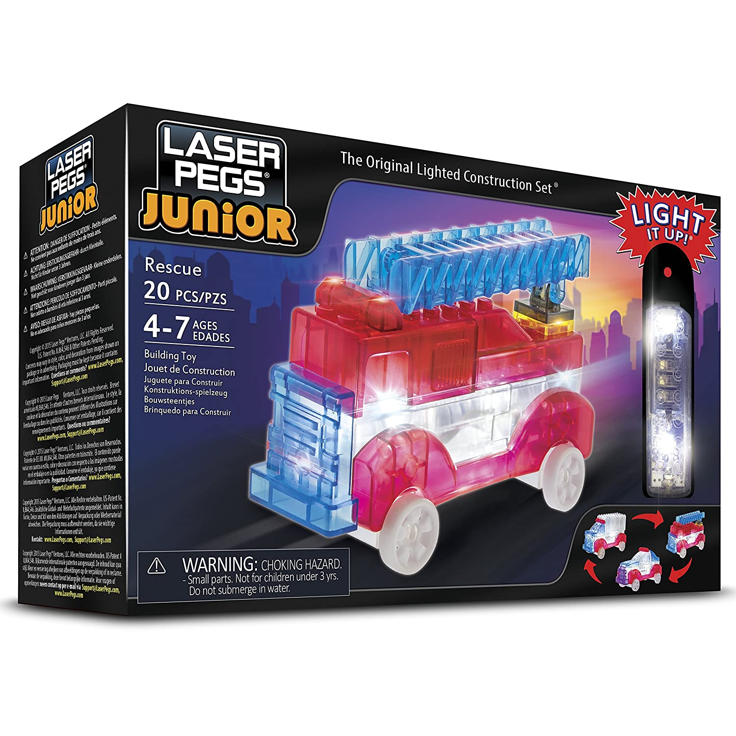 3 in 1 Rescue Building Kit ZD006 Laser Pegs Juniors