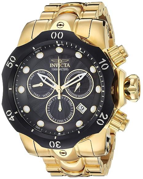 INVICTA Venom Reloj DE Hombre Cuarzo Suizo Correa Y Caja DE Acero 23892: Amazon.es: Relojes