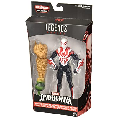 Marvel Spider-Man 6-inch Legends Series Multiverse Spider-Men: Spider-Man 2099: Toys & Games