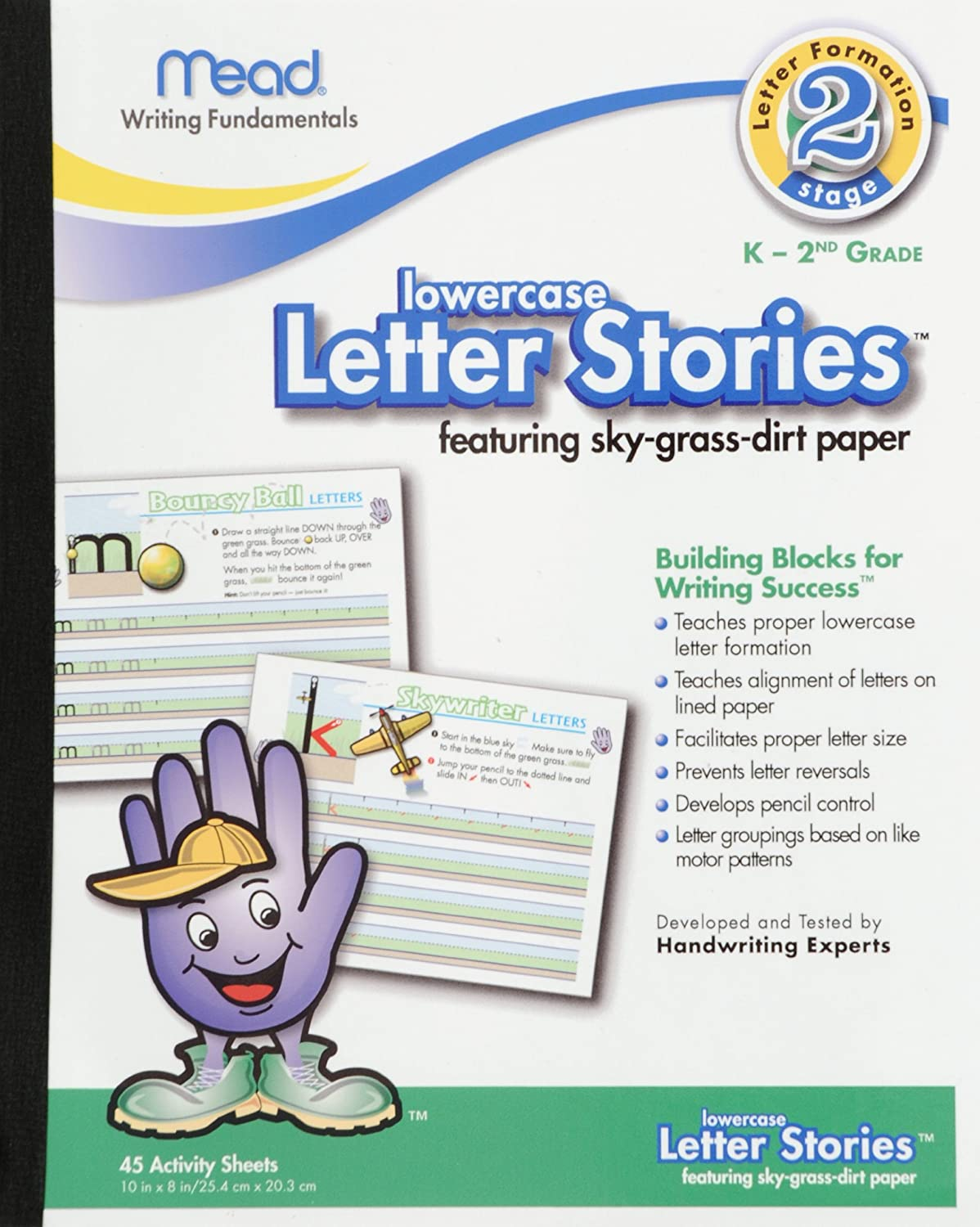 Amazon Mead Letter Stories Lower Case Letters 10 X 8 Inches
