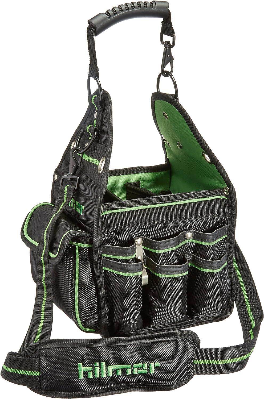 Hilmor HVAC/R Tote, HVAC Bag for Tools & Equipment, Black & Green, HT 1839078
