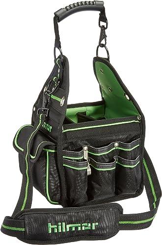 Hilmor HVAC R Tote, HVAC Bag for Tools Equipment, Black Green, HT 1839078