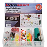 Ultrasport Caja de accesorios de pesca con 148