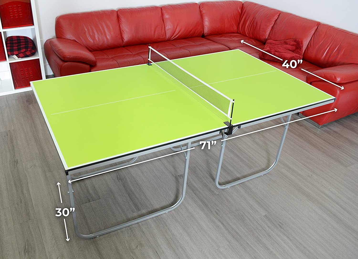 Milliard Mini-Pong Portable Tennis Table
