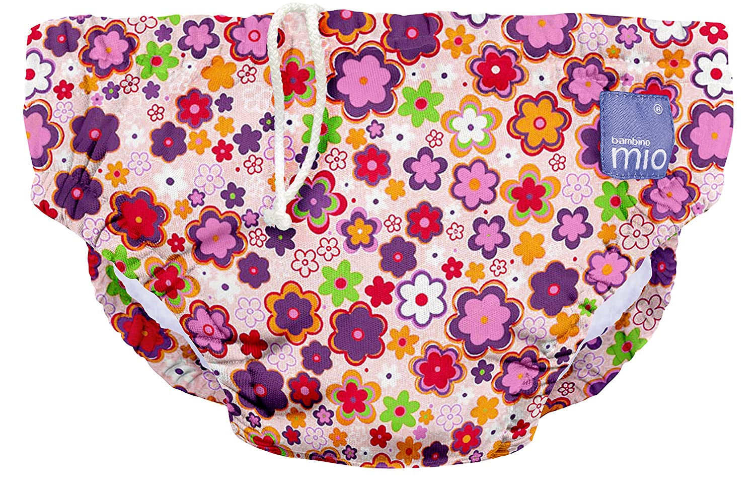 Multicolour Large Bambino Mio Ditzy Floral Reusable Swim Nappy 1-2 Years