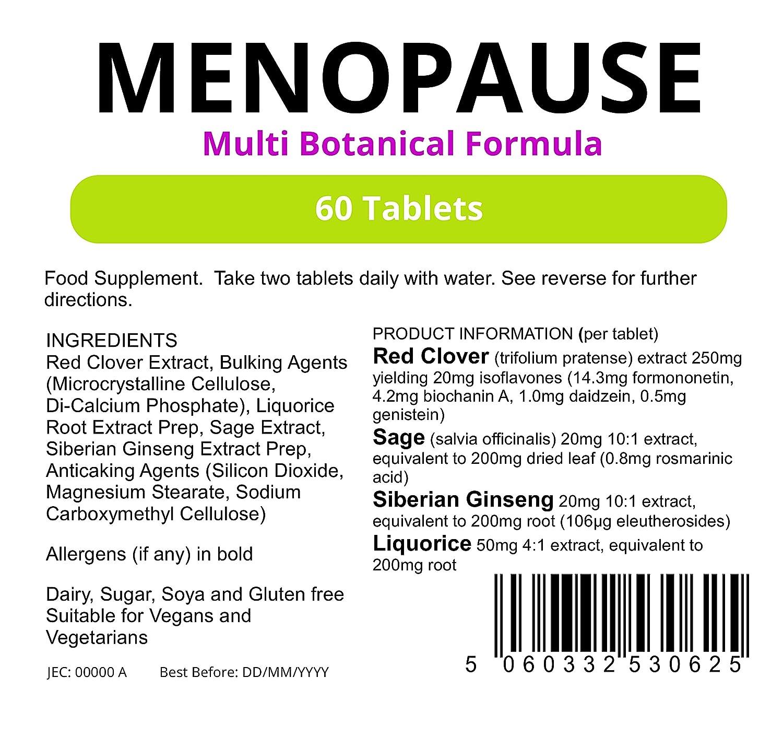 Lindens - Formula Menopausia - 60 tabs: Amazon.es: Salud y cuidado personal