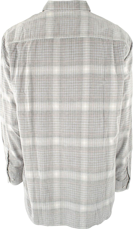 Mens Corduroy Long Sleeve Button-Down Shirt