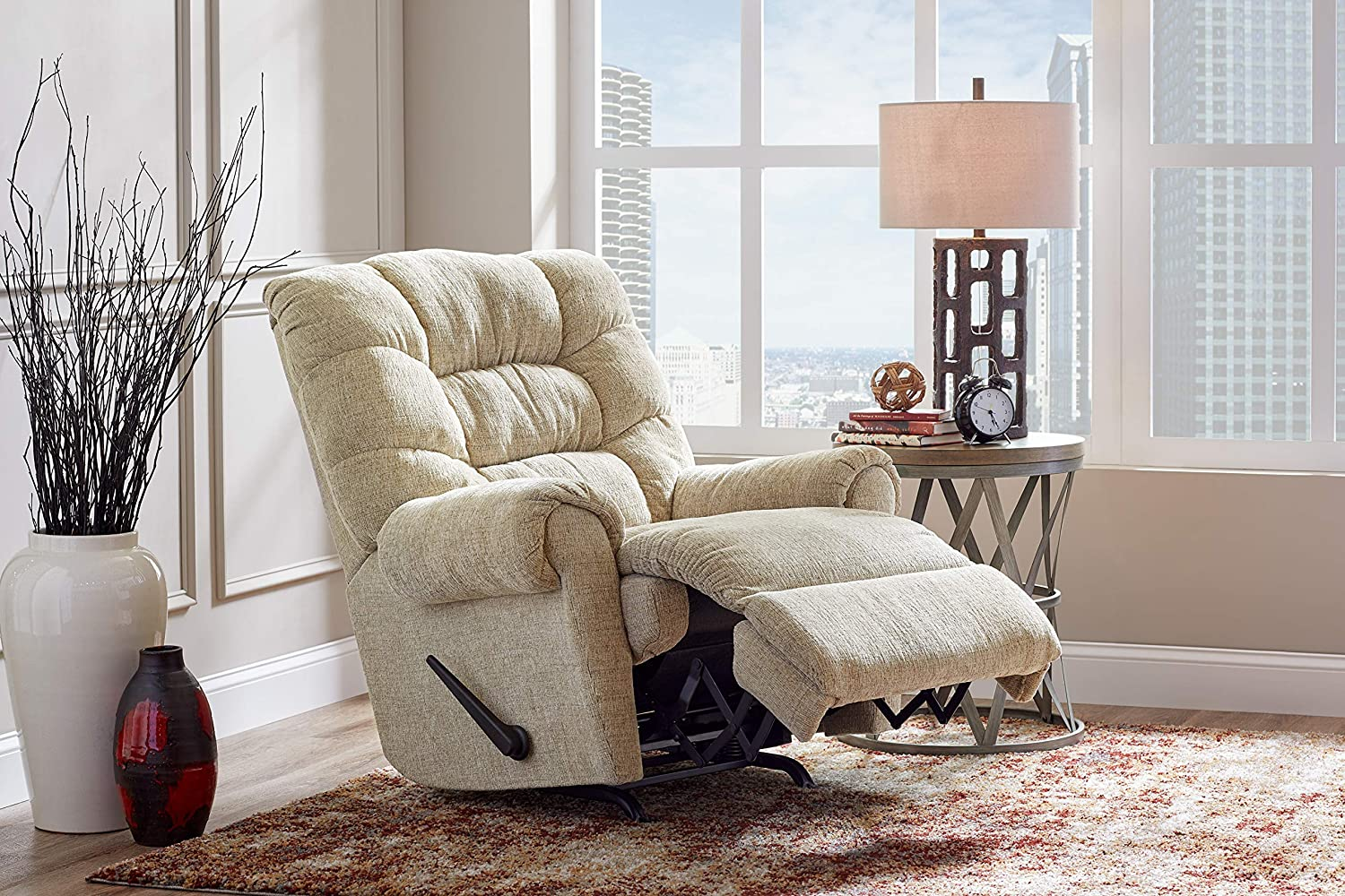 Lane Home Furnishings Swivel Rocker Recliner