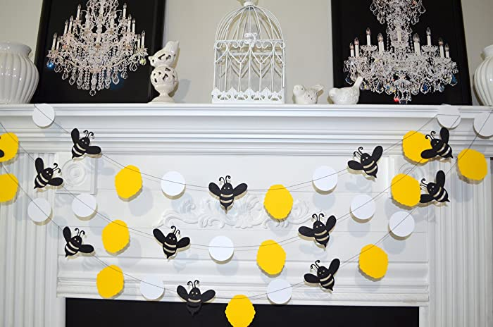 Amazon Bumble Bee Garland Mommy To Bee Bumble Bee Baby Shower