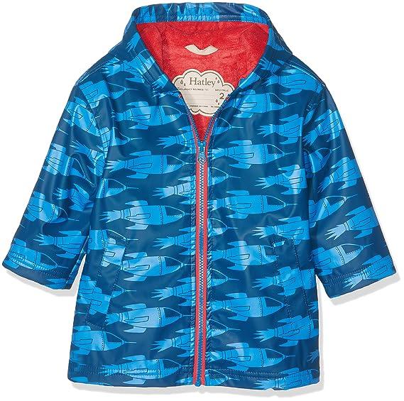 a9f52242b Hatley Boy s Zip Up Splash Jacket Raincoat  Amazon.co.uk  Clothing