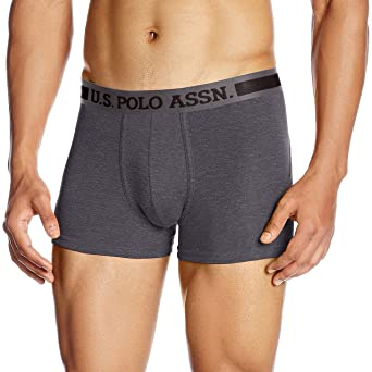 US Polo Association Men's Cotton Trunk Men's Underwear Trunks at amazon