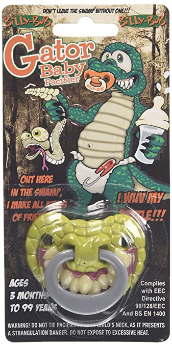 Amazon.com: Billy Bob GATOR Baby Pacifier: Baby