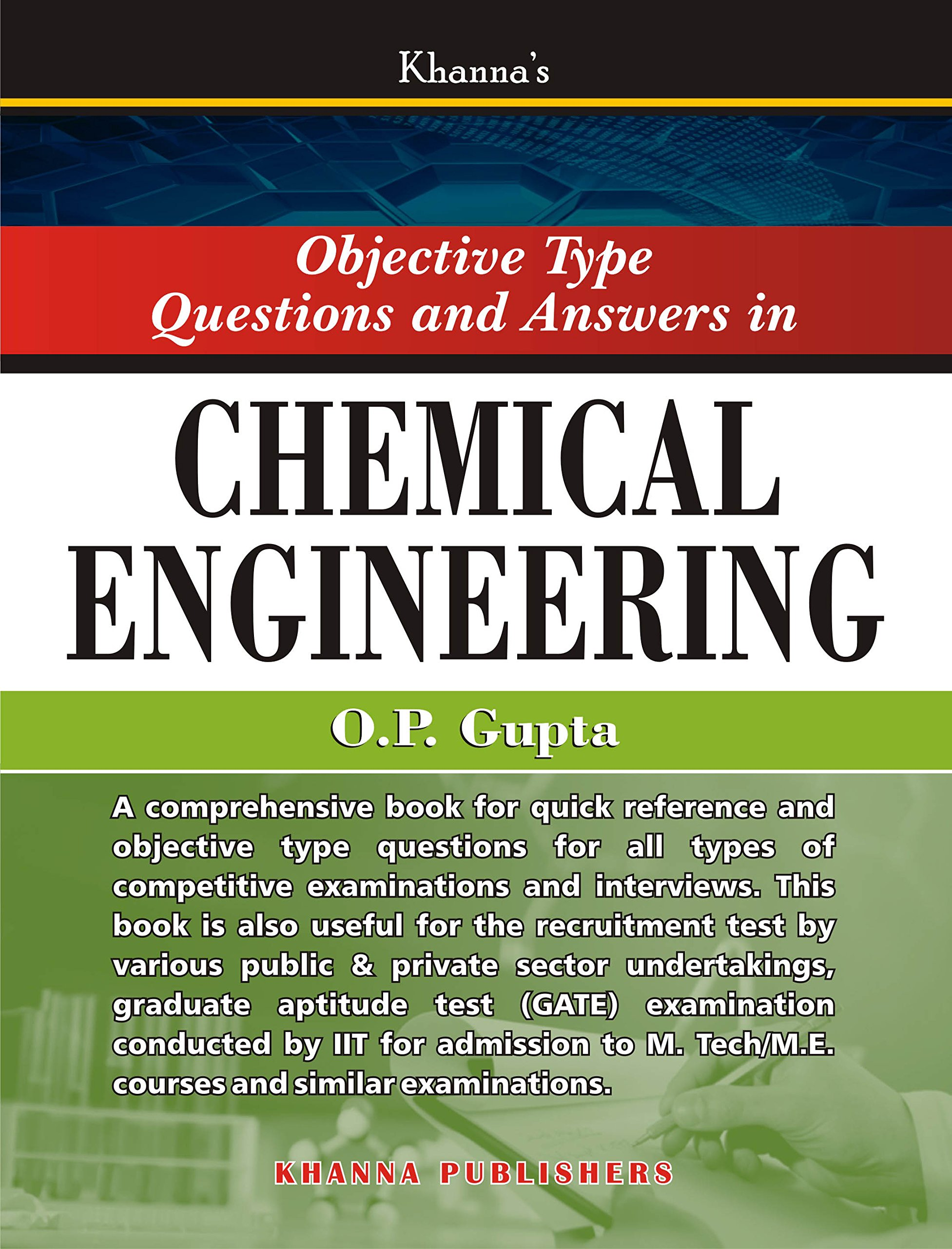 Op Gupta Chemical Engineering Ebook