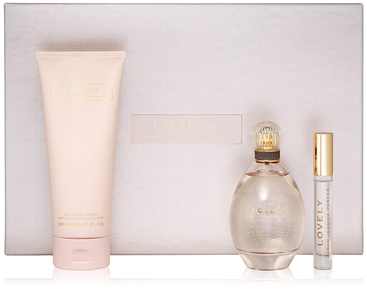 Sarah Jessica Parker Lovely Fragrance Set, 3 Count, W-GS-3877