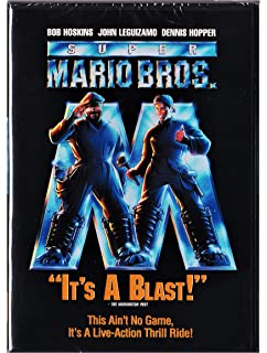 Amazon com: Super Mario Bros : Bob Hoskins, Dennis Hopper