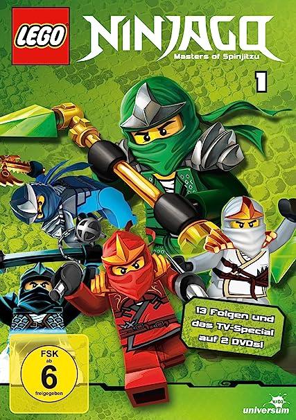 Lego Ninjago - Staffel 1 [Alemania] [DVD]: Amazon.es: Cine y ...