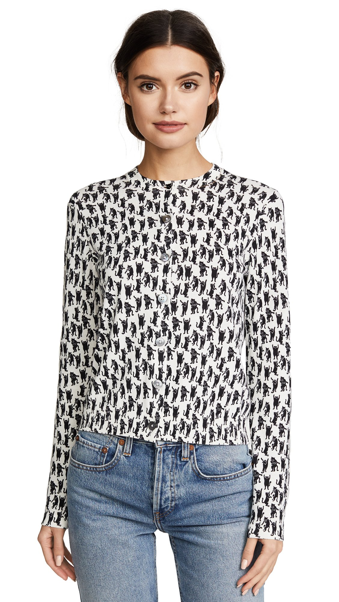 Paul Smith Women's Kitty Cardigan, White, Small