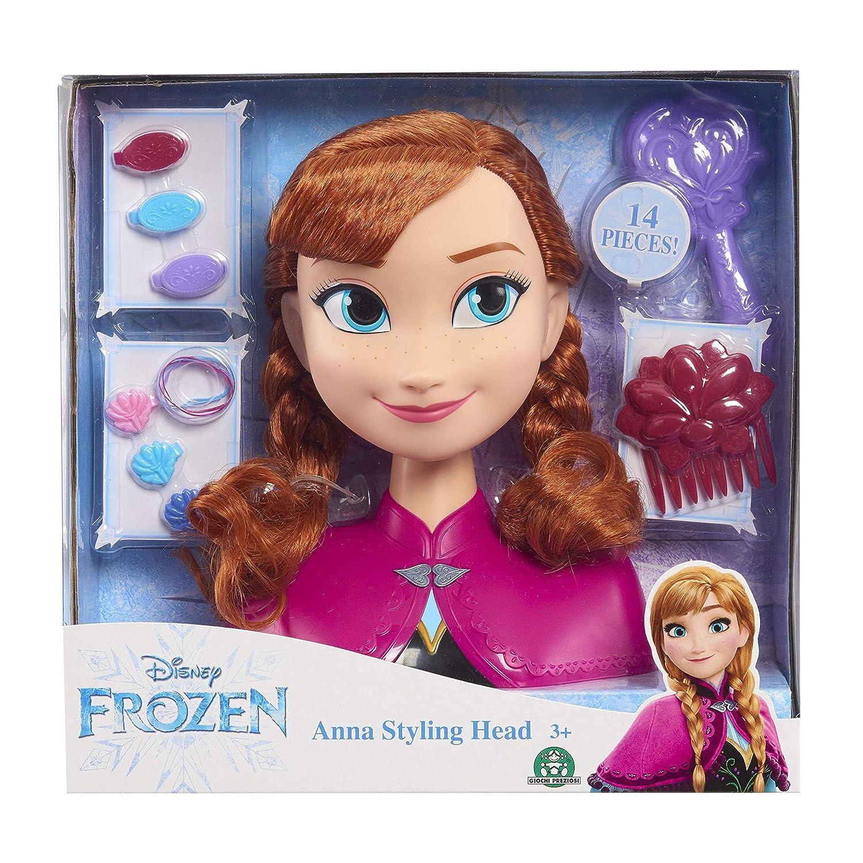 Frozen Disney Anna Basic Styling Head