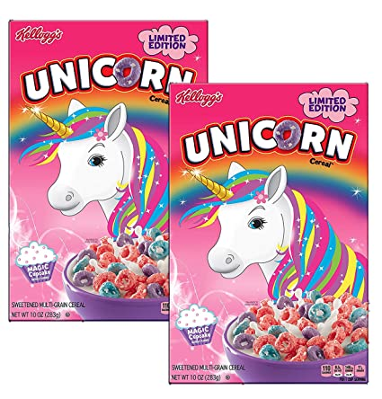 Kelloggs Unicorn Coloring Pages
