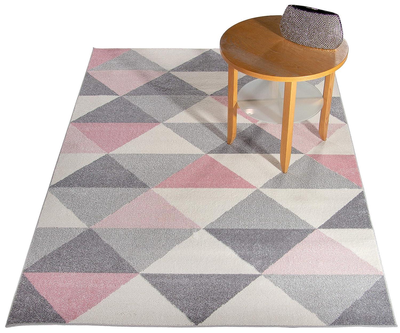 Carpetforyou Moderner Geometrischer Teppich Desert Stones Rhombus