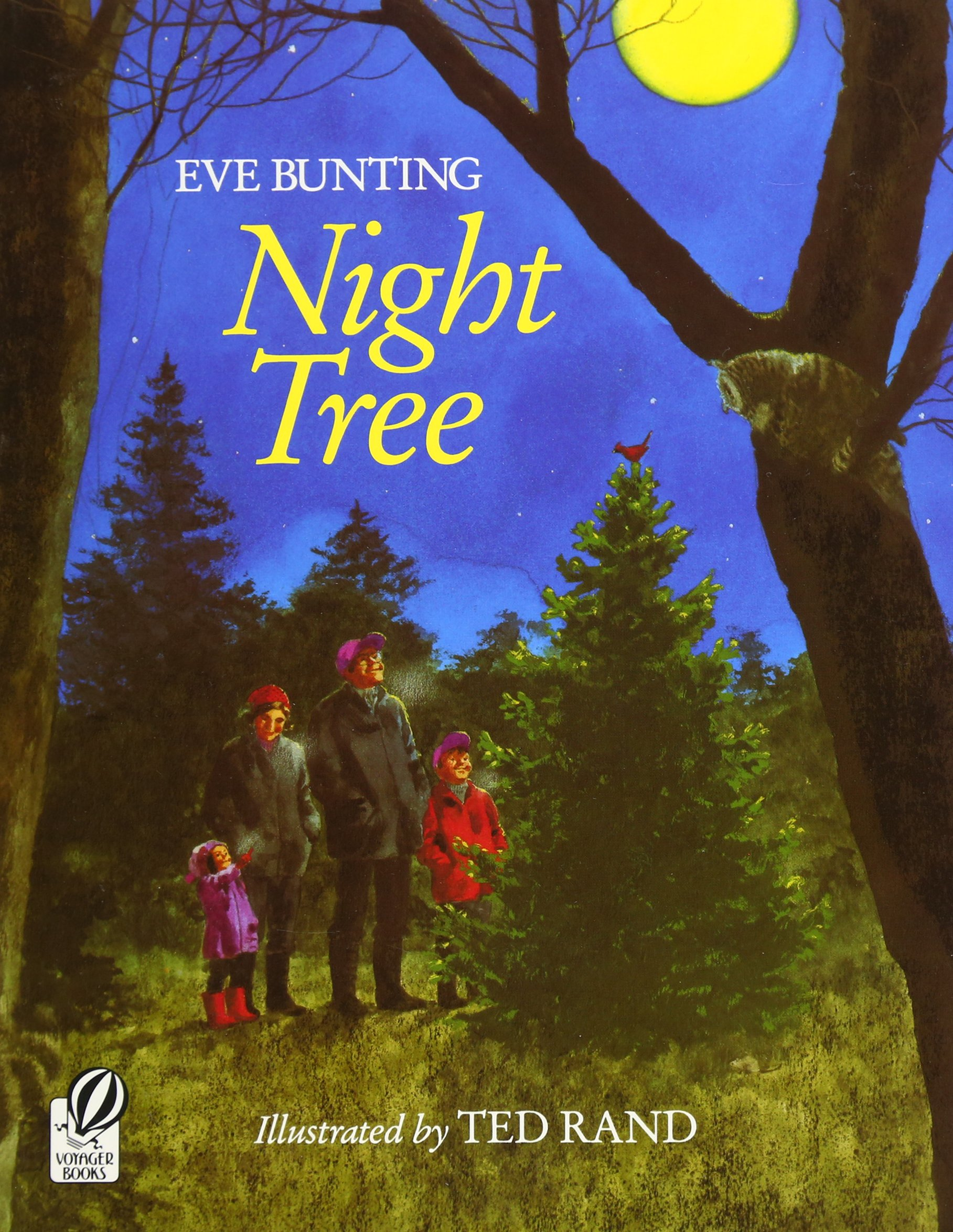Night Tree: Bunting, Eve, Rand, Ted: 9780152001216: Amazon.com: Books