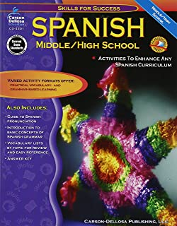 Amazoncom Spanish Grades 6 12 Middle High School The 100