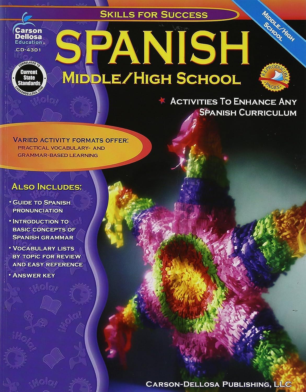 Workbooks workbook in spanish three years : Amazon.com: Spanish: Middle / High School (Skills for Success ...