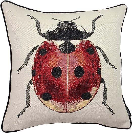 Bugs /& Ladybirds Digital Printed Linen Cotton Fabric Curtain Upholstery Cushion