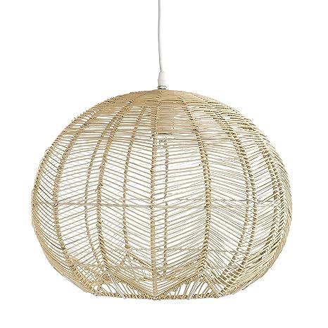 Kenay Home Mert Lámpara de Techo Decorativa, Color Natural ...