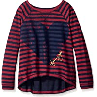 TOMMY GIRL Juniors My Favorite Sweatshirt - Pink - Medium