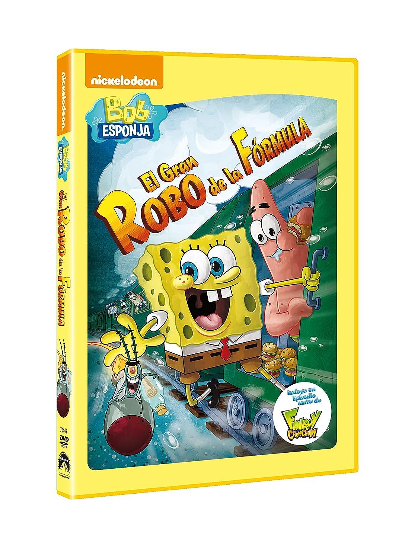 Amazon Com Bob Esponja El Gran Robo De La Formula Import Movie