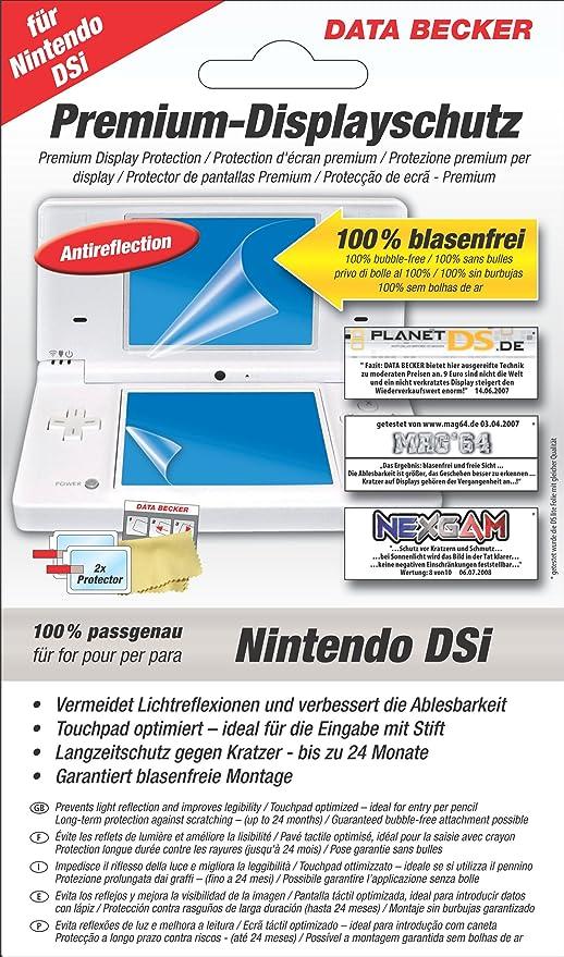 Data Becker 311740 Perfect Protection Antireflex-Schutzfolie Nintendo Dsi