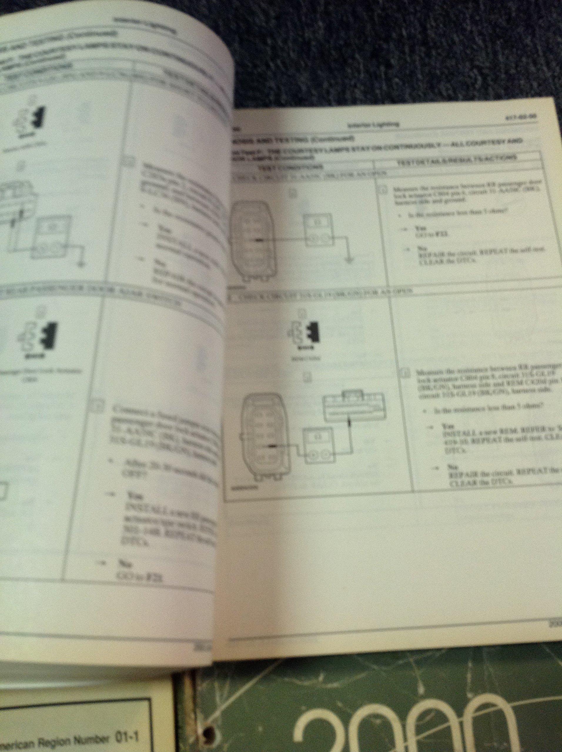 2000 LINCOLN LS Service Shop Repair Manual Set W EWD & Technical Bulletin  OEM: FORD: Amazon.com: Books