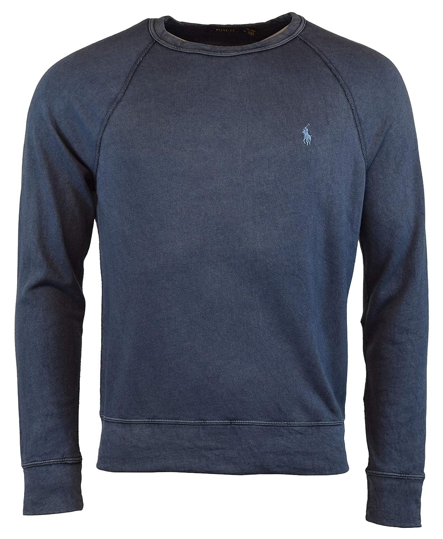 134429f9c Polo Ralph Lauren Men s Spa Terry Crewneck Fleece Sweatshirt at Amazon Men s  Clothing store