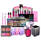 Amazon Price History for:SHANY Holiday Exclusive All in One Makeup Set - Includes 15PC Makeup Brush Set, Eyeshadow Palette Makeup Set, 12PC Lipgloss Set, Cosmetics Brush Holder & Skin Care - Limited Quantities - COLORS VARY