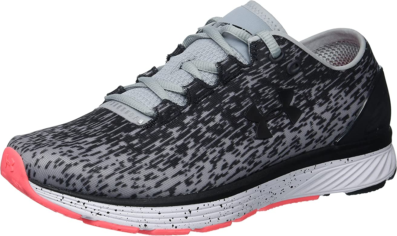 Under Armour Womens Charged Bandit 3 Ombre Running Shoe, Overcast ...