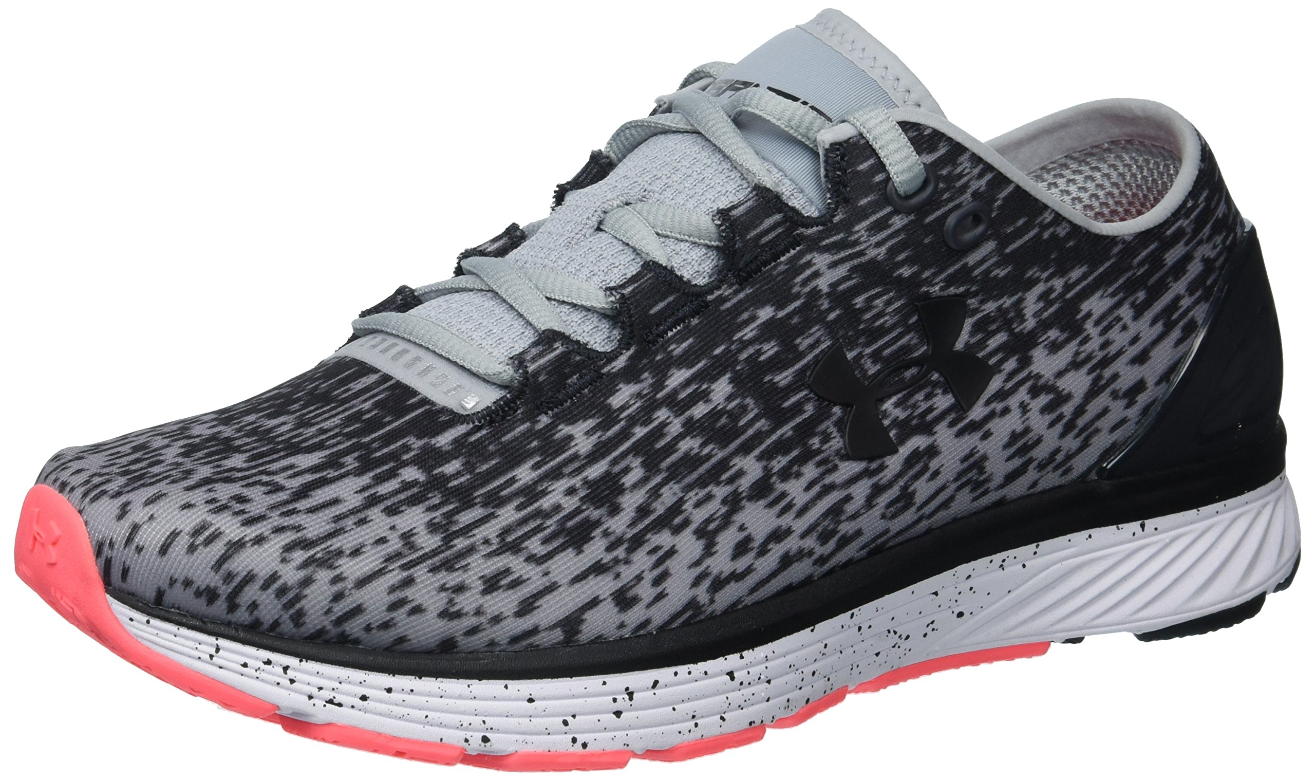 Under Armour Women's Charged Bandit 3 Ombre Running Shoe, Overcast Gray (100)/Anthracite, 8.5