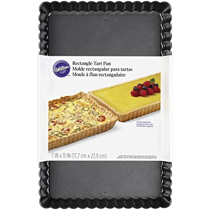 Wilton 2105-0221 Rectangle Tart Pan, Assorted