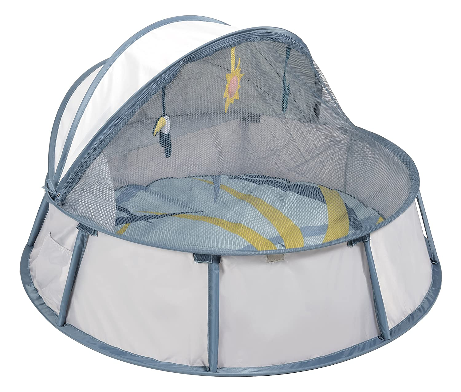 Babymoov Babyni UV Tent / Playpen, Blue/Taupe A035204