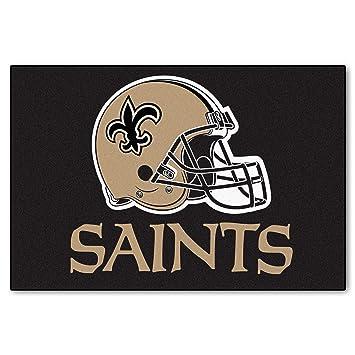 11c60c43 Fanmats New Orleans Saints 20x30 Starter Rug