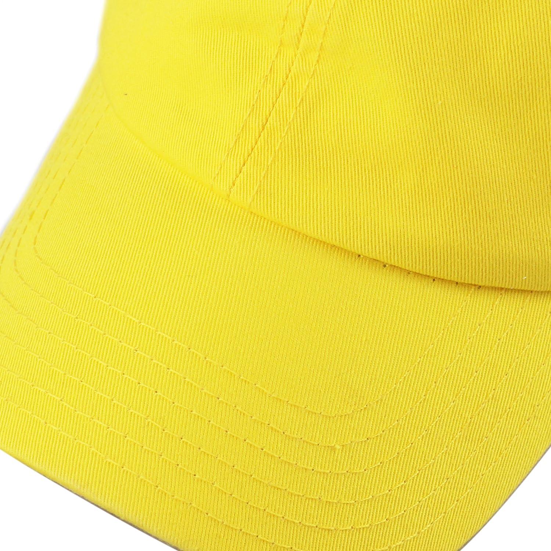 The Hat Depot Unisex Blank Washed Low Profile Cotton /& Denim /& Tie Dye Dad Hat Baseball Cap