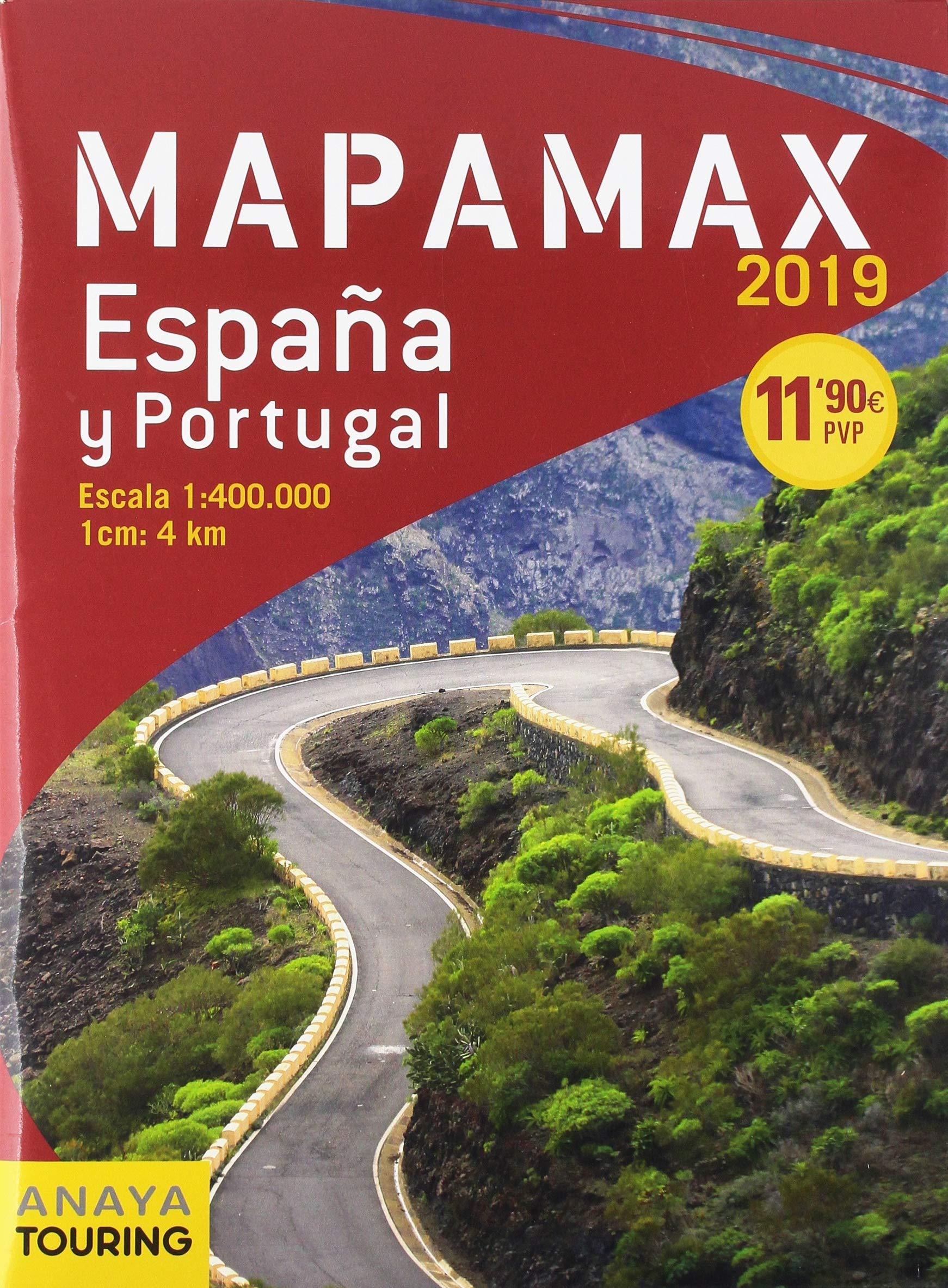 Mapamax - 2019 (Mapa Touring): Amazon.es: Anaya Touring: Libros