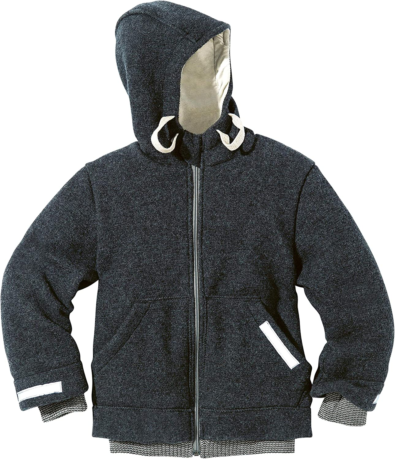 Disana Outdoor Jacket in Anthracite Rose 100/% Organic Merino Wool Made in Germany