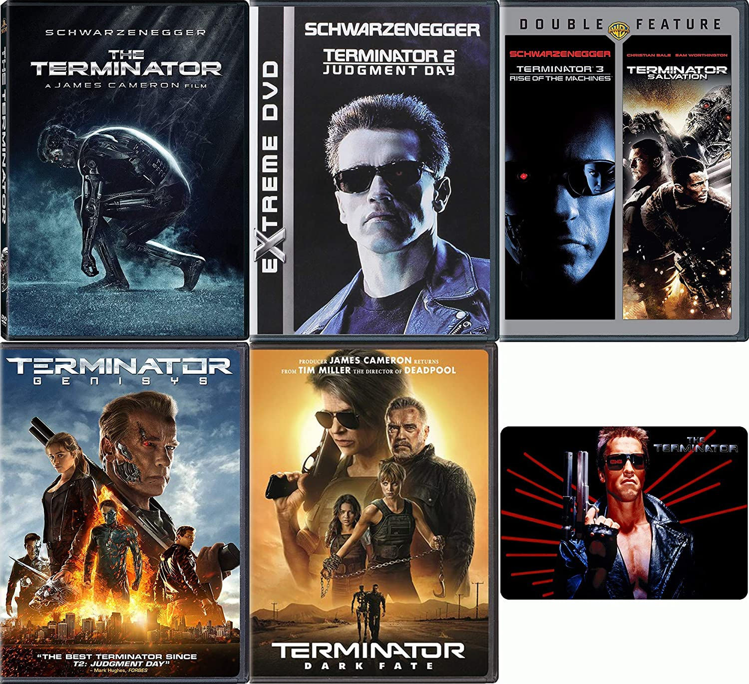 Amazon.com: Terminator: Complete Movie Series DVD Collection with ...