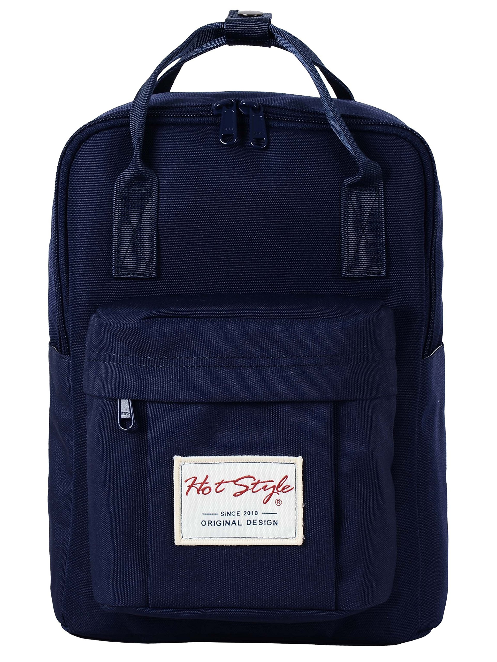 BESTIE 12'' Cute Mini Small Backpack Purse Travel Bag - NavyBlue by hotstyle